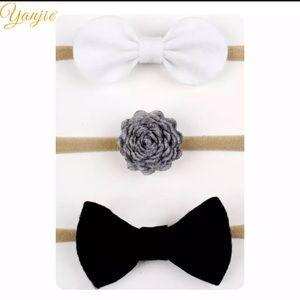 Other - 3 soft nylon headbands